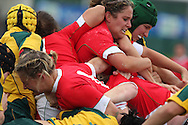IRB Womens Rugby world cup, day 1 at Surrey university in Guildford.  Wales v Australia.