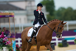 Deborah Criddle (GBR) - LJT Akilles<br /> Individual Championship Test - Grade Ia<br /> London 2012 Paralympic Games<br /> © Hippo Foto - Jon Stroud