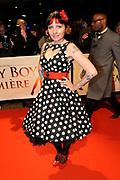 Premiere van de film Sonny Boy op maandag 17 januari in het Circus Theater in Scheveningen.<br /> <br /> Op de foto:Sanne Kraaijkamp