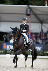 Ida-Linn Lundholm, SWE, Eclectisch<br /> Final 7 years of age<br /> World Championship Young Dressage Horses <br /> Ermelo 2016<br /> © Hippo Foto - Dirk Caremans<br /> 31/07/16