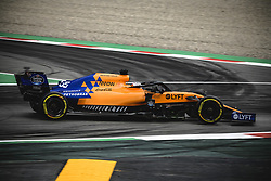 May 11, 2019 - Barcelona, Catalonia, Spain - CARLOS SAINZ (ESP) from team McLaren drives in his MCL34 during the third practice session of the Spanish GP at Circuit de Catalunya (Credit Image: © Matthias Oesterle/ZUMA Wire)