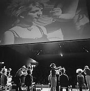 Coiffure Jahresshow der Lehrling im Podium Düdingen. Présentation de fin-d'année des apprentis coiffeurs de Fribourg, Podium Guin. © Romano P. Riedo