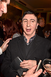 Marc Almond at a party to celebrate the publication of The Fatal Tree by Jake Arnott held at The Foundling Museum, 40 Brunswick Square, London, England. 22 February 2017.