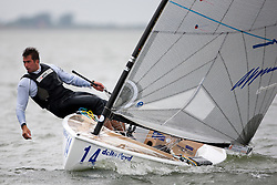 Pieter Jan  Postma. Medal races, May 29th, Delta Lloyd Regatta in Medemblik, The Netherlands (26/30 May 2011).