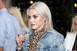 Musician Amy Macdonald arriving at the launch party for the new Ivy restaurant in Buchanan St, Glasgow. Pic copyright Terry Murden @edinburghelitemedia