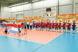 20170525 NED: 2018 FIVB Volleyball World Championship qualification, Koog aan de Zaan<br />Team Luxembourg<br />©2017-FotoHoogendoorn.nl / Pim Waslander