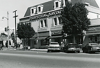 1977 Perpetual Savings & Coldwell Banker offices on Larchmont Blvd.