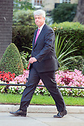 © Licensed to London News Pictures. 08/07/2014. Westminster, UK Andrew Lansley CBE, Conservative MP,  arriving on Downing Street today 8th July 2014 for the weekly cabinet meeting. Photo credit : Stephen Simpson/LNP
