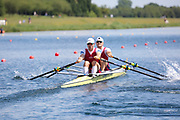 Race: 54  Event: Double Sculls - Tier 2 - Heat 1<br /> <br /> National Schools Regatta 2018<br /> Sunday<br /> <br /> To purchase this photo, or to see pricing information for Prints and Downloads, click the blue 'Add to Cart' button at the top-right of the page. The Metropolitan Regatta 2018