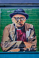 République d'Irlande, Dublin, peinture murales sur price's line et Adair line // Republic of Ireland; Dublin, murals on price's line and Adair line