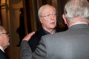 SIR MICHAEL CAINE, Opening of David Hockney ' A Bigger Picture' Royal Academy. Piccadilly. London. 17 January 2012
