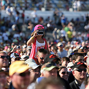Fans react as the Grammy award winning band Train sings during a one hour performance prior to the start of the NASCAR Coke Zero 400 race at Daytona International Speedway in Daytona Beach, Fl., on Saturday July 7, 2012. (AP Photo/Alex Menendez) Grammy Award winning band TRAIN plays an hour long concert prior to the NASCAR Coke Zero 400 race at Daytona International Speedway in Daytona Beach, Florida on July 7, 2012.