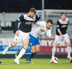 Falkirk 1 v 1 Morton, Scottish Championship game today at The Falkirk Stadium.<br /> © Michael Schofield.