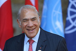 27.05.2017, Taormina, ITA, 43. G7 Gipfel in Taormina, im Bild Jose Angel Gurría, OECD Generalsekkretär // Ose Angel Gurria, OECD Secretary General during the 43rd G7 summit in Taormina, Italy on 2017/05/27. EXPA Pictures © 2017, PhotoCredit: EXPA/ SM<br /> <br /> *****ATTENTION - OUT of GER*****