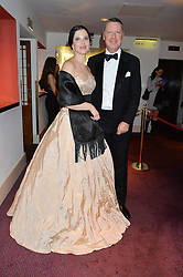 OLGA BALAKLEETS and MICHAEL VLACOVIC at the 10th anniversary Gala of the Russian Ballet Icons at the London Coliseum, St.Martin's Lane, London on 8th March 2015.