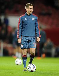 Bayern Munich's Philipp Lahm - Photo mandatory by-line: Joe Meredith/JMP - Tel: Mobile: 07966 386802 19/02/2014 - SPORT - FOOTBALL - London - Emirates Stadium - Arsenal v Bayern Munich - Champions League - Last 16 - First Leg