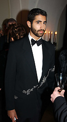 CONSTANTINE KULUKUNDIS  at a private dinner to unveil the Van Cleef & Arpels jewellery collection 'Couture' with fashion by Anouska Hempel Couture held at The Banqueting House, Whitehall Palace, London on 8th March 2005.<br />