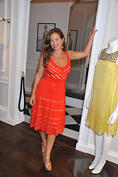 JADE JAGGER at the Frocks and Rocks party hosted by Alice Temperley and Jade Jagger at Temperley, Bruton Street, London on 25th April 2013.