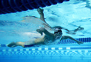 USA's Scott Usher finished second to teammate Brendan Hansen with a time of 2:14.65 in the 200m Men's Breaststroke competition during the 2005 Duel in the Pool at the William Woollett Jr. Aquatics Complex in Irvine Tuesday August 2, 2005.