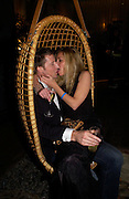 """Monica Selva and Damian Ramsay. Official Pre-Brit Awards 2005 Pool Tournament"""" at The Sanderson Hotel February 8, 2005 in London. The party is hosted by Esquire Magazine ONE TIME USE ONLY - DO NOT ARCHIVE  © Copyright Photograph by Dafydd Jones 66 Stockwell Park Rd. London SW9 0DA Tel 020 7733 0108 www.dafjones.com"""