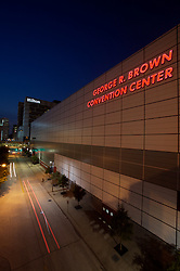 Stock photo of the George R. Brown Convention Center in Houston, Texas
