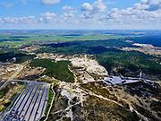 Nederland, Noord-Holland, Bergen, 07-05-2021; Parkeerterrein Hargen aan Zee en Schoorlse duinen.<br /> <br /> luchtfoto (toeslag op standaard tarieven);<br /> aerial photo (additional fee required)<br /> copyright © 2021 foto/photo Siebe Swart