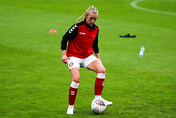 Flo Allen of Bristol City Women during warm-up - Mandatory by-line: Will Cooper/JMP - 18/10/2020 - FOOTBALL - Twerton Park - Bath, England - Bristol City Women v Birmingham City Women - Barclays FA Women's Super League