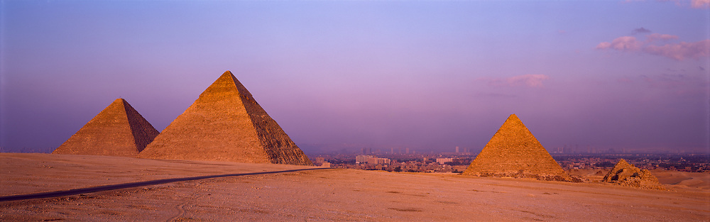 The Great Pyramids of Giza, Egypt, 1996