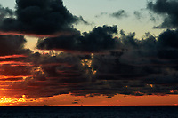 Pacific Ocean Sunrise Panorama viewed from the aft deck of the MV World Odyssey. Image 18 of 20 taken with a Nikon 1 V3 camera and 70-300 mm VR lens (ISO 200, 82 mm, f/8, 1/250 sec). Raw images processed with Capture One Pro and the panorama created using AutoPano Giga Pro.