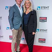 NL/Gouda/20201012 - Premiere Murder Ballad, Frits Sissing en partner Willemijn