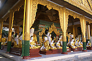 Myanmar, Yangon, Shwedagon Pagoda