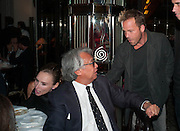 SIR DAVID TANG; STEPHEN DORFF, Dinner in aid of the China Tiger Revival hosted by Sir David Tang and Stephen Fry  at China Tang, Park Lane, London. 1 October 2013. ,