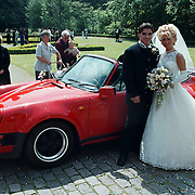 Huwelijk Ricardo van der Laan en Simone