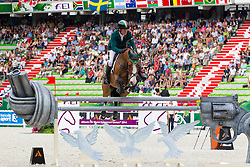 Cameron Hanley, (IRL), Antello Z - World Champions, - Second Round Team Competition - Alltech FEI World Equestrian Games™ 2014 - Normandy, France.<br /> © Hippo Foto Team - Leanjo De Koster<br /> 25/06/14