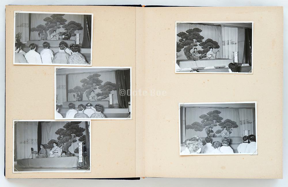 Japan 1950s through 1970s photo album