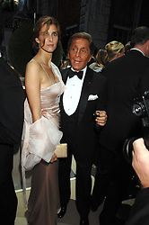 PRINCESS KYRIL OF BULGARIA and VALENTINO at the Ark 2007 charity gala at Marlborough House, Pall Mall, London SW1 on 11th May 2007.<br />