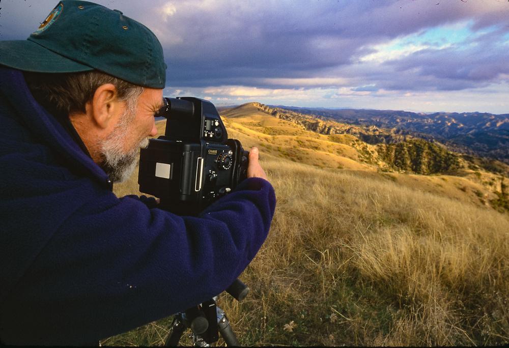 Pat O'Hara, Vashlovani National Park, The Country of Georgia. Photo by Afanassi Makovnev, ©1999 Pat O'Hara