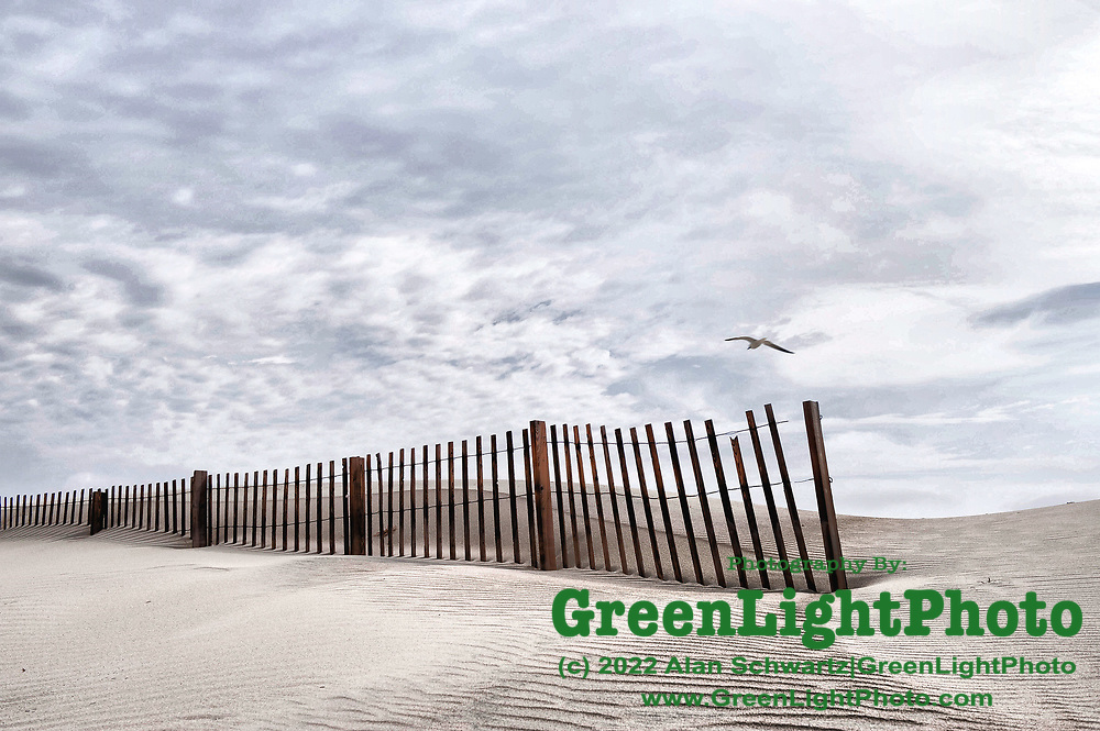 Beach scene on the Outer Banks, NC, USA. Photo by Alan Schwartz/GreenLightPhoto. Please contact GreenLightPhoto for additional information.