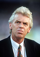 Fotball<br /> VM 1990<br /> Foto: Colorsport/Digitalsport<br /> NORWAY ONLY<br /> <br /> Leo Beenhaker the Holland Manager. England v Holland. World Cup Finals. Cagliari 16/6/90