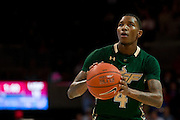 DALLAS, TX - JANUARY 15: Corey Allen Jr. #4 of the South Florida Bulls shoots a free-throw against the SMU Mustangs on January 15, 2014 at Moody Coliseum in Dallas, Texas.  (Photo by Cooper Neill/Getty Images) *** Local Caption *** Corey Allen Jr.