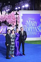 Emily Mortimer, Lin-Manuel Miranda, Colin Firth, Emily Blunt, Mary Poppins Returns European Premiere, Royal Albert Hall, Kensington Gore, London, UK, 12 December 2018, Photo by Richard Goldschmidt