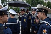 Korean Students at the The N.G. Kuznetsov Naval Academy in St Petersburg