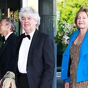 NLD/Amsterdam/20110527 - 40ste verjaardag Prinses Maxima, Geert Mak en partner