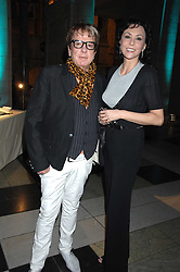 NICKY HASLAM and MARIE HELVIN at the Orion Publishing Groups Authors party held at the V&A museum, Cromwell Road, London on 15th February 2007.<br /><br />NON EXCLUSIVE - WORLD RIGHTS