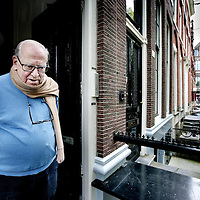 Nederland,Amsterdam ,25 september 2008..Jan Andries Blokker (Amsterdam, 27 mei 1927) is een Nederlandse journalist, columnist, schrijver, publicist en amateur-historicus..Dutch journalist, columnist, author, writer and amateur historian Jan Blokker (1927).