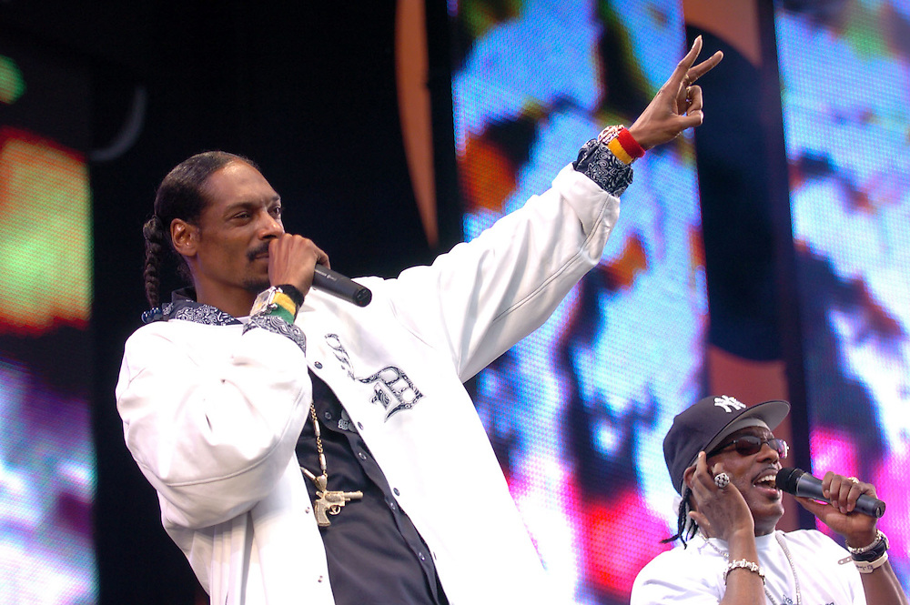 Live 8 Concert Snoop Dog   Pix By Dave Nelson