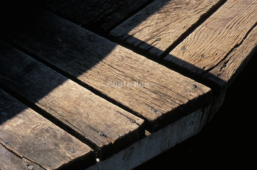 Aged wood in the sunshine