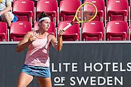 Rosalie Van Der Hoek during the 2019 Swedish Open in Båstad on July 11, 2019. Photo Credit: Katja Boll/EVENTMEDIA.