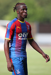 Crystal Palace's Wilfried Zaha during a pre season friendly match at The Kassam Stadium, Oxford