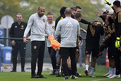 September 5, 2018 - Tubize, Belgique - Thierry Henry ass. coach of Belgian Team (Credit Image: © Panoramic via ZUMA Press)